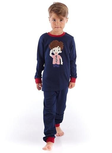 Colorinas Pijama Takım Lacivert